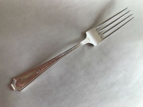 ANTIQUE DURGIN COLFAX STERLING SILVER - DINNER FORK - MORE AVAILABLE - MONOGRAM