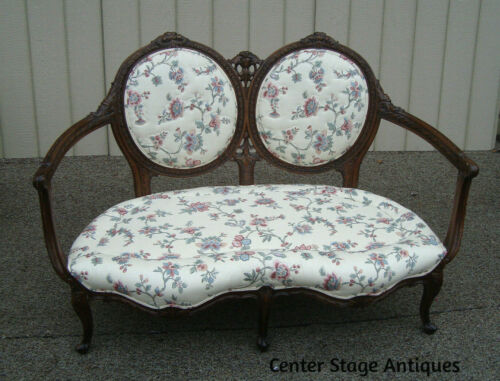 59708 Fancy Carved Loveseat Sofa Couch Chair