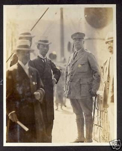 USA PHOTO WITH JAPAN RED CROSS OFFICERS 1917Original Period Items - 13976