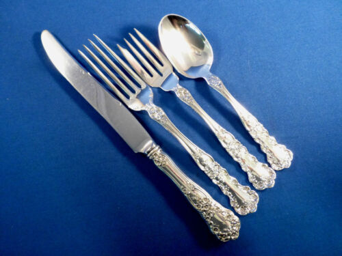 BUTTERCUP-GORHAM STERLING 4 PC LUNCH SIZE PLACE SETTING(S) -FRENCH