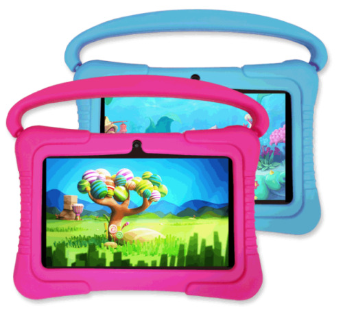 7inch Kids Child Google Tablet HD PC Android 8.1 Quad Core Dual Camera WiFi 16GB