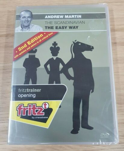 Fritztrainer Opening Andrew Martin The Scandinavian The Easy Way 2nd Edition