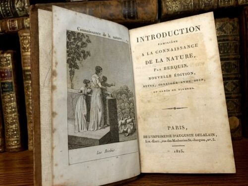 1825 FAMILIAR INTRODUCTION TO THE KNOWLEDGE OF NATURE