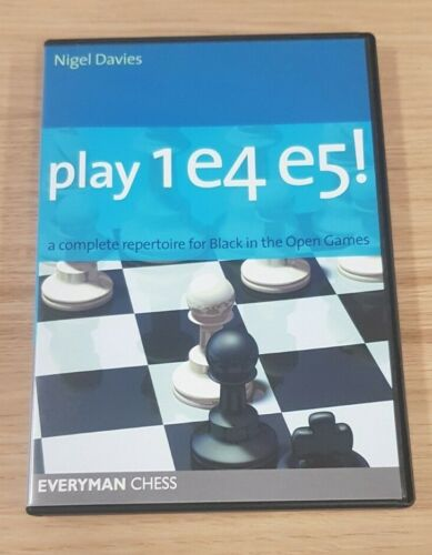 Everyman Chess Play 1 e4 e5! A Complete Repertoire for Black in the Open Games
