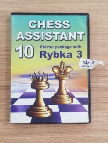 Chess Assistant 10 Starter Package with Rybka 3 PC CD Chess Software