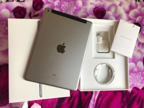 Apple iPad 5th-32G. Wifi and cellular (Sim card). Excellent condition- Unlocked