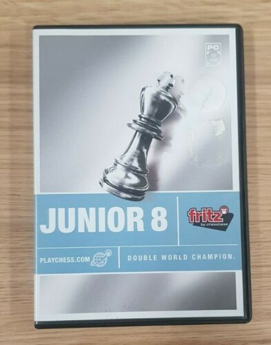 Fritz by ChessBase Junior 8 Double World Champion CD Chess Software