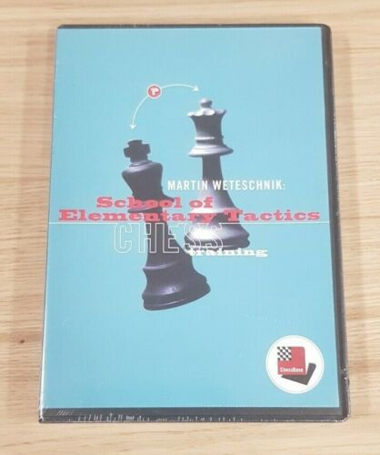 ChessBase School of Elementary Tactics Chess Training Chess Software Sealed