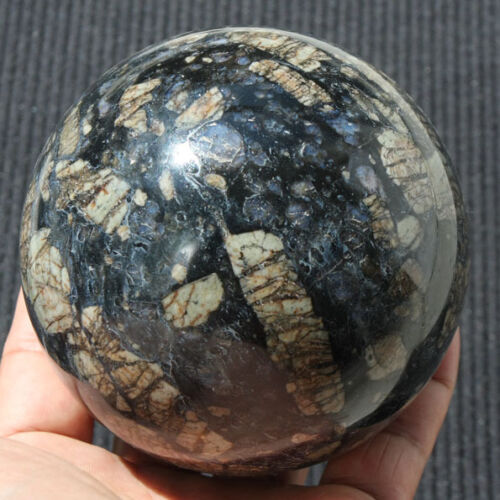 "92mm 3 5/8"" Blue Opal  Crystal Sphere Ball"