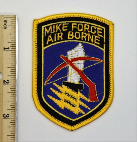 MIKE FORCE AIRBORNE PATCH Made for Vietnam War Veterans & Collectors