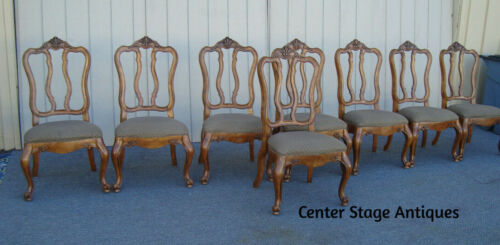 61799 Set 8 French Country Dining Chairs