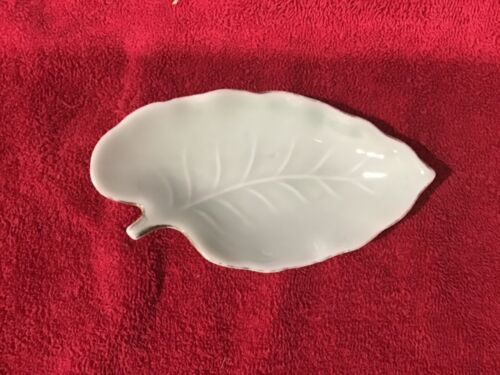 Antique Small Leaf Plate, Made in Japan