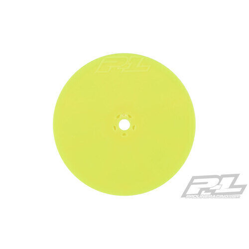 """PROLINE Velocity 2.2"""" Hex Front Yellow Wheels (2) for TLR 22 5.0 - PR2788-02"""