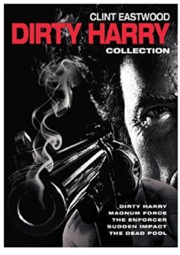 Dirty Harry Collection 5 Film (Clint Eastwood) New Region 4 DVD