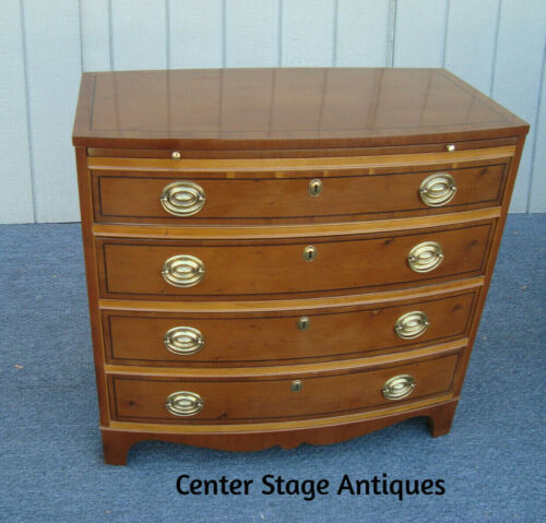 62061  HICKORY Bachelor Chest Dresser with Pull Out  Tray