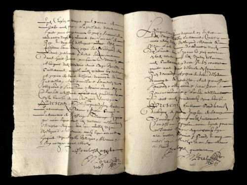 1645 OLD DOCUMENT 8 pages