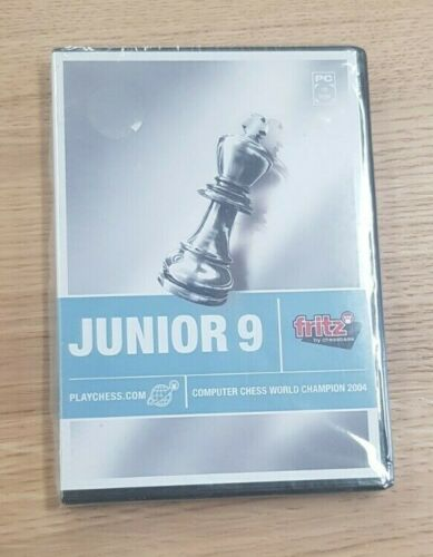 Fritz by ChessBase Junior 9 Computer World Champion CD Chess Software Sealed