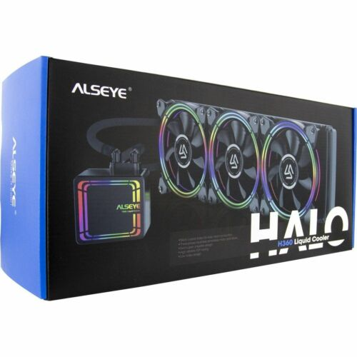 CPU Cooler 360mm AiO Water Cooling 'ALSEYE H360'