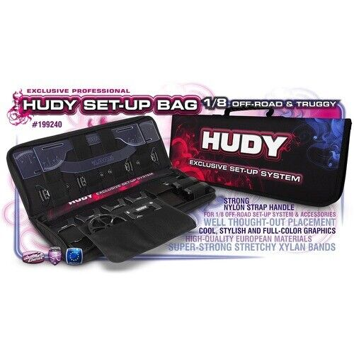 HUDY SET-UP BAG FOR 1/8 OFF-ROAD BUGGY AND TRUGGY CARS - HD199240