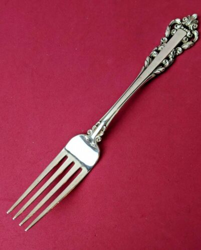 """1971 MEDICI by GORHAM STERLING SILVER Place Fork 7 1/2""""  No Monos Very Good"""