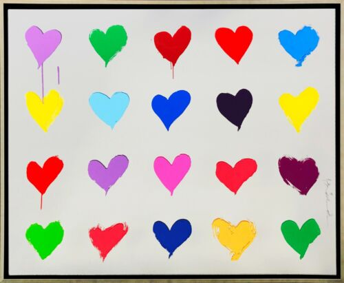 """MR BRAINWASH """"ALL YOU NEED IS HE(ART)"""" 