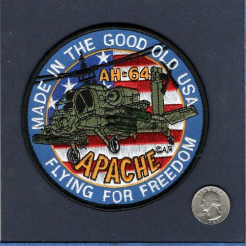AH-64 APACHE US ARMY Aviation Company Attack Helicopter Squadron Jacket PatchOther Eras, Wars - 135