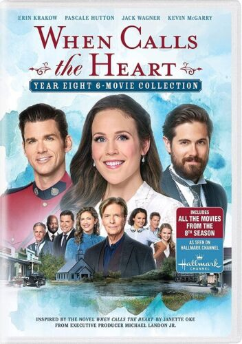 When Calls the Heart 6 Movie Collection Year 8 (Erin Krakow) Eight New DVD