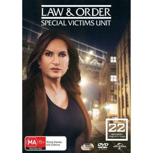 Law And Order SVU - Special Victims Unit : Season 22 : NEW DVD