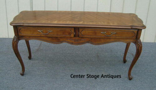 62011 HAMMERY French Country Library Sofa Table  Console Stand