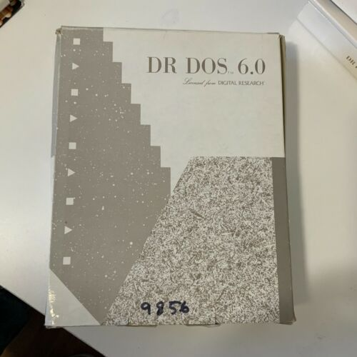 DR DOS 6.0 Operating System By Digital Research