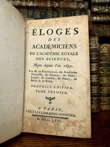 1766 IN PRAISE OF ACADEMICIANS - On The Utility of Mathematics and Physics