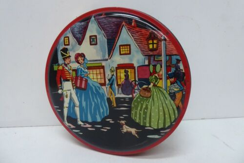 MASTERCRAFT  BISCUIT TOFFEE TIN PICTURE LADIES IN GOWNS