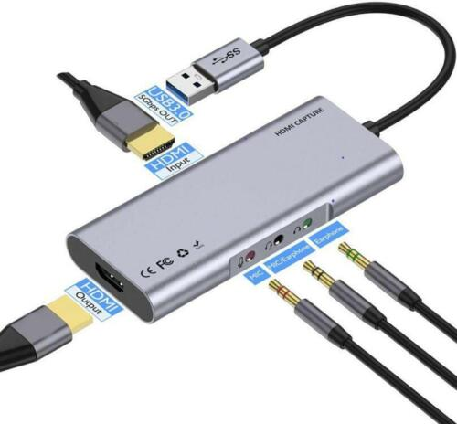 HDMI Capture Card USB A Port Connect to PC MM0496