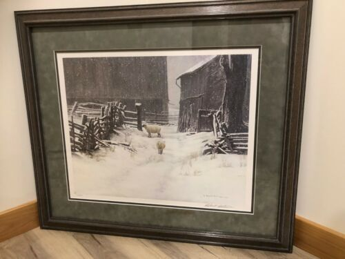 Robert BATEMAN In For The Evening Limited Edition art print Mint text cards