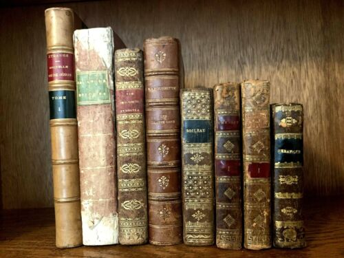 ANTIQUE LITERATURE LOT 1800s <br/> Follow our DAILY $0.99 listings of Antique Media