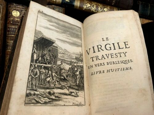 1695 TRAVESTY OF VIRGIL In Burlesque Verse