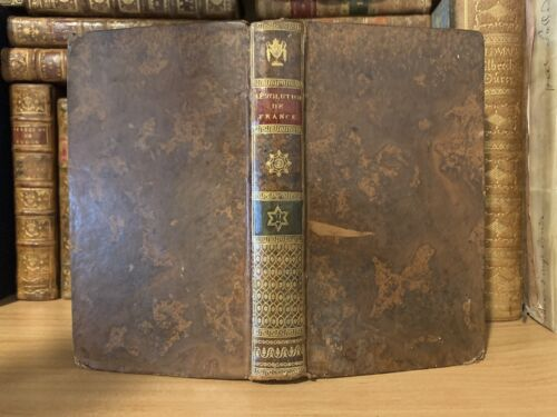 1801 HISTORY OF REVOLUTIONS IN FRANCE