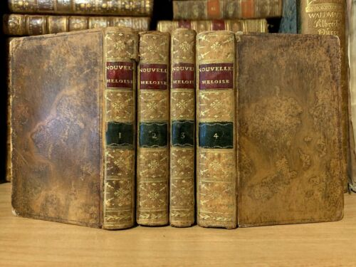 1806 CHIEF WORKS OF JEAN JACQUES ROUSSEAU