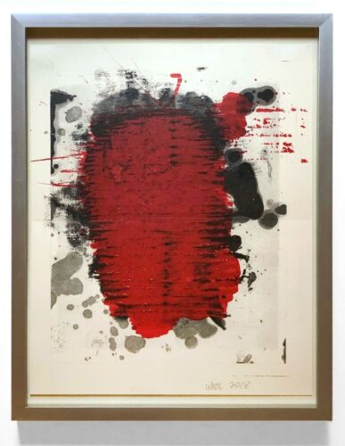 Christopher Wool 2018 Abstract Color ULAE Lithograph Pristine Condition Framed