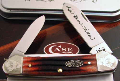 Case Canoe Knife 2005 CCC Collectors Tour Canoe Sold At TN Event 1 of 100! NR