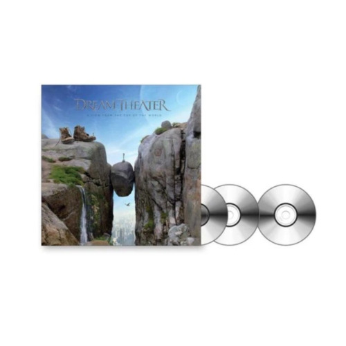 Dream Theater - View From The Top Of The World, A (Ltd. Ed. 2CD + Blu-Ray Artboo