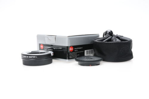 Leica M-Adapter-T/L 18771 (M-Mount Lens to T/L Camera) #771 <br/> Roberts Camera - Photo Industry Leader since 1957!