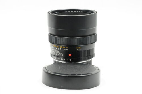 Leica R 80mm f1.4 Summilux 3-Cam E67 Lens #128 <br/> Roberts Camera - Photo Industry Leader since 1957!