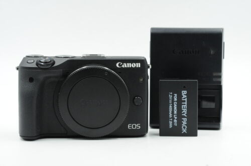 Canon EOS M3 24.2MP Mirrorless Digital Camera Body #727 <br/> Roberts Camera - Photo Industry Leader since 1957!