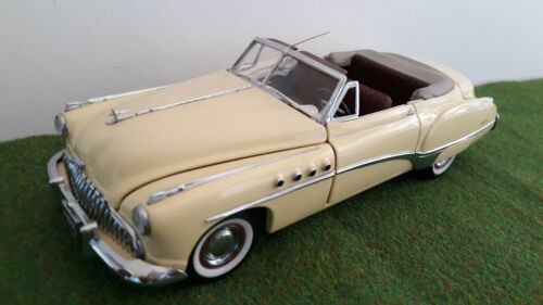 BUICK ROADMASTER cabriolet 1949 1/24  FRANKLIN MINT voiture miniature collection