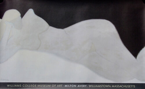 Milton Avery 'Reclining Blonde' 1959 Williams College Museum of Art Poster 29x48